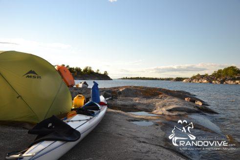 1er au 9 aout 2019 – Archipel SUD ou EST de Stockholm en Kayak de mer