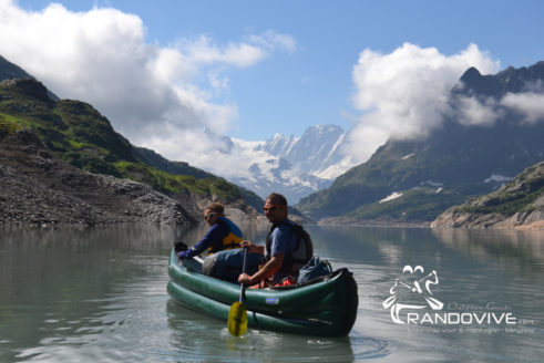 20 & 21 Juillet 2019 ? – Le lac d'Emosson en Canoë – Alt 1900m