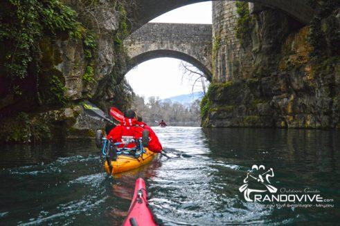 1 Novembre au 31 Décembre 2018 – Les Sorties kayak de fin d'année