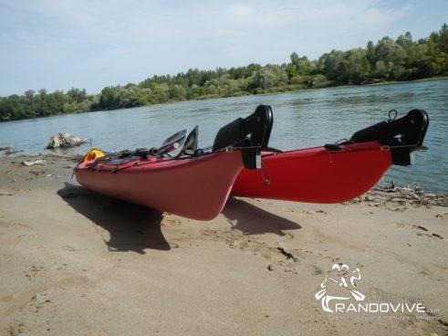 25 Février 2017 – L'Ain et la Confluence en Rando Kayak