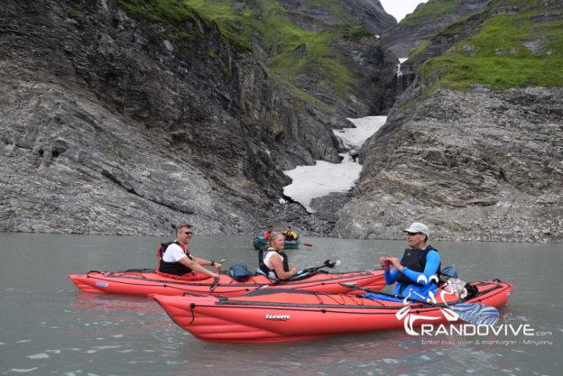 25 au 26 juillet 2020 – Le lac d'Emosson en Canoë – Alt 1900m