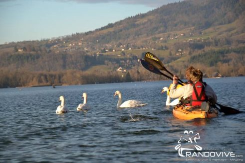 TOPO Lac d'Aiguebelette – Le Tour du Lac – 14Km