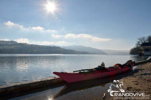 TOPO Lac de Paladru – Le Tour du Lac – 11Km