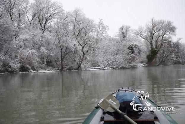 1 janvier au 28 Février 2019 – Paysages d'hiver en Canoë et kayak
