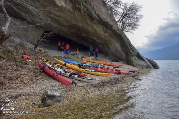 24 Mars 2019 – Le lac du Bourget en kayak de mer