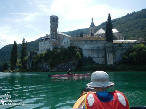 TOPO Le Lac du Bourget – L'Abbaye de Hautecombe  – 12 Km