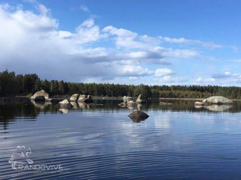 6 au 14 juillet 2019 – Suède – Åsnen National Park en Canoë