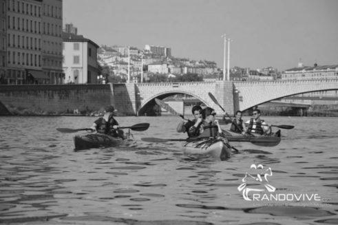 27 Oct 2019 : La Saône – Lyon autrement en Canoë – Kayak