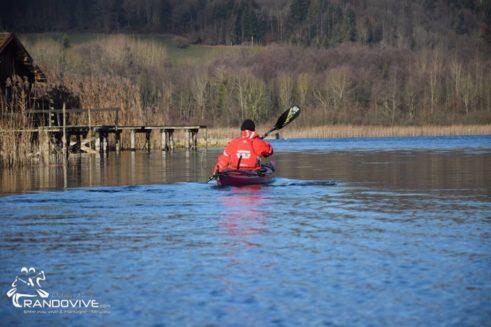 17 Nov 2019 – Le Lac d'Aiguebelette en kayak de mer