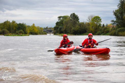 TOPO La Loire  – Feurs à Balbigny – 10 Km