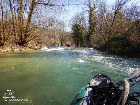 TOPO La Seille  – Nevy à Domblans  – 7 Km