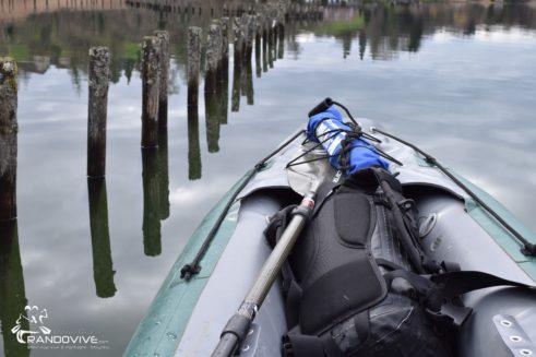 TOPO Lac d'Aiguebelette – Le sud du Lac  et le Thiez – 9Km