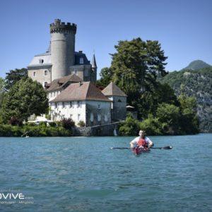 TOPO Le Lac d'Annecy – Le sud du lac  – 18 Km