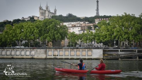 30 juin 2020 – Traversée de Lyon en canoe et Kayak