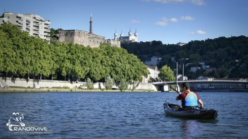 29 Juillet 2020 – Traversée de Lyon en canoe et Kayak