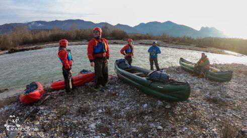 20 Décembre 2021 – Drôme – La dernière de l'année en canoë et kayak