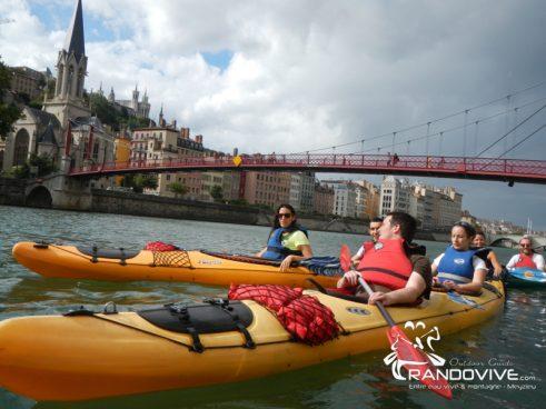 Toute l'année : Découvrir Lyon autrement en Canoë – Kayak