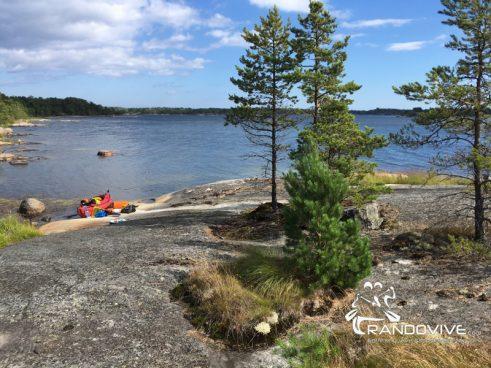 Juillet 2019 – Archipel SUD de Stockholm en Kayak de mer