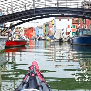 Photos Kayak Venise, Murano, Burano 2017 avec Randovive.com