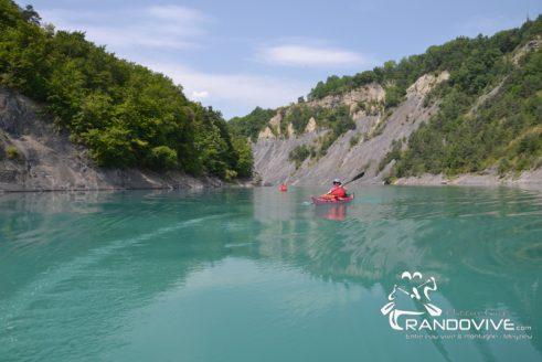 TOPO Drac – Barrage de Monteynard Sud – 16Km