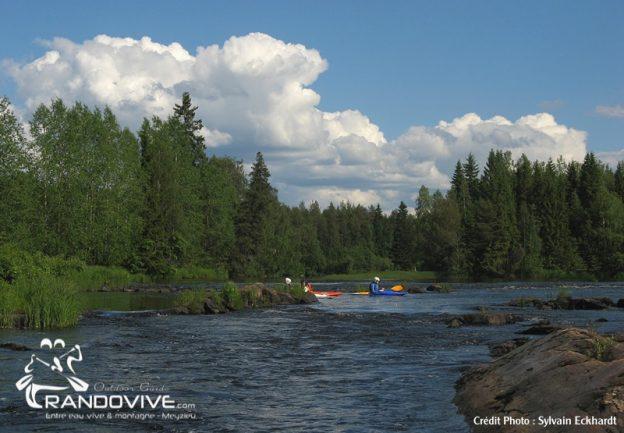 3 au 12 Juillet 2018 – PROJET – Canoë & Pêche en Finlande sur la Kiiminkijoki
