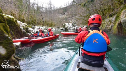 TOPO 2021 La Valserine – Pont de Coz à Barrage de Metral – 4 Km