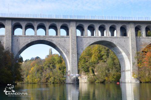 TOPO Rhône Suisse  – Le Haut Rhône Genevois – 22 Km