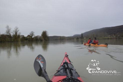 TOPO Le Rhône – Le Rhône entre Briord et Sault Brenaz – 9 Km