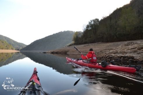 1 Décembre 2019 – Le Barrage de Grangent en kayak de mer