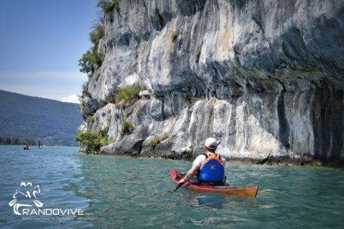 TOPO Le Lac d'Annecy – Le Nord du lac  – 24 Km